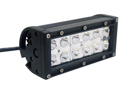 6 quot led light bar dual row bulldog led lighting