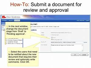 04 how to submit for review docpublisher With document review and approval software