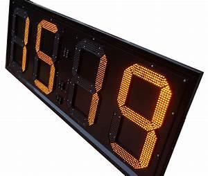 Led Uhr Wand : led uhren f r den innen oder au enbereich ~ Whattoseeinmadrid.com Haus und Dekorationen