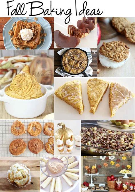 fall baking ideas julie measures