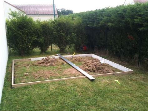 comment faire une dalle beton pour abri de jardin faire une terrasse en bois sur une dalle beton mzaol
