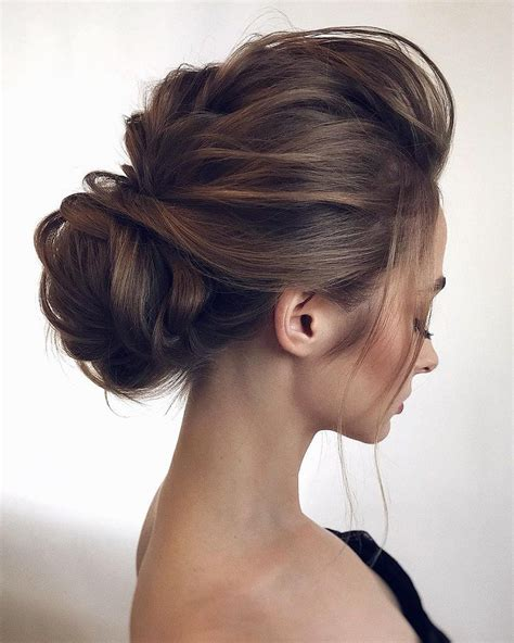 gorgeous wedding hairstyles from updo chignon hairstyles