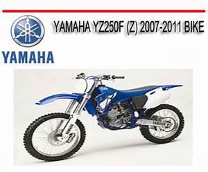 Yamaha Yz250f  Z  2007