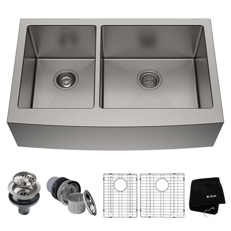 afa stainless 33 kitchen sink reviews kraus standart pro farmhouse apron front stainless steel