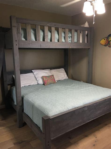 bedroom bunk beds full  queen   kids  climb