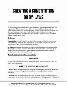 Church constitution and bylaws template templates for Constitution and bylaws template