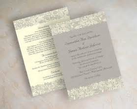 lace wedding invitations lace wedding invitation wedding invitations