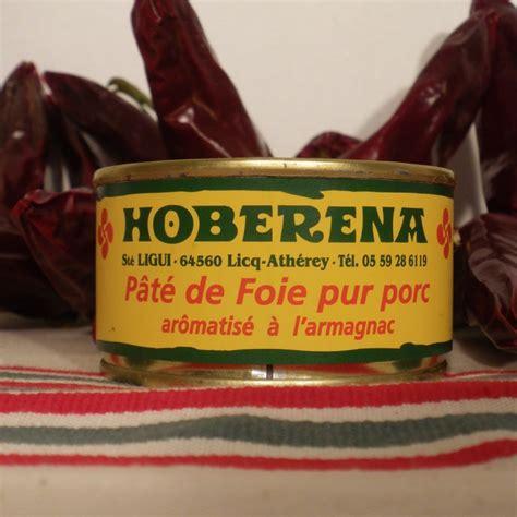 recette pate de foie de porc a l ancienne p 226 t 233 de foie de porc ar 244 matis 233 224 l armagnac conserves hoberena