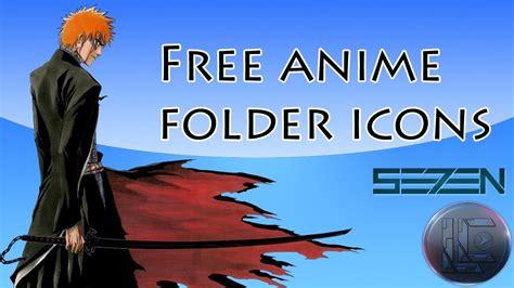 Anime Folder Icons Free Free Anime Folder Icons