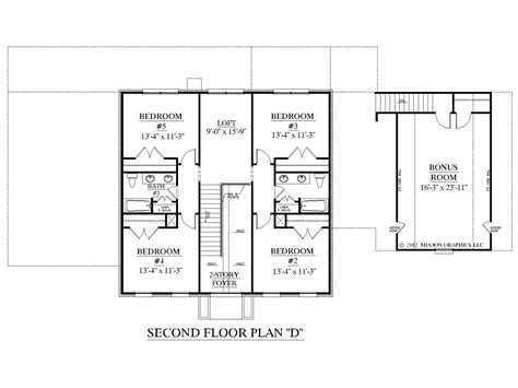 upstairs floor plans house plan 3397 d albany quot d quot second floor house plans by