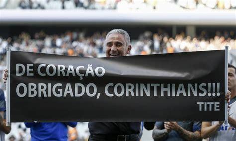 Tite é homenageado no Corinthians e se recusa a falar ...