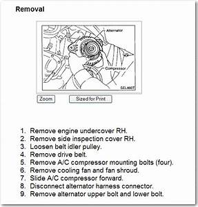 Need To Replace The Alternator On My Son U0026 39 S 1999 Nissan Maxima  What Do I Need To Know  U0026 Do
