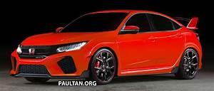 Civic 10 Type R : honda civic type r 5 door hatchback rendered in red ~ Medecine-chirurgie-esthetiques.com Avis de Voitures
