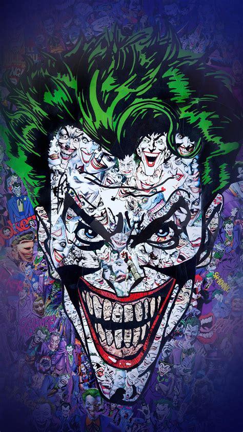 Abstract Joker Wallpaper by Joker Batman Logo Abstract Apple Wallpaper