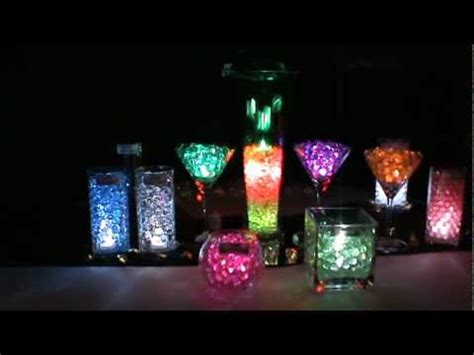 led submersible lights blyss water beads youtube
