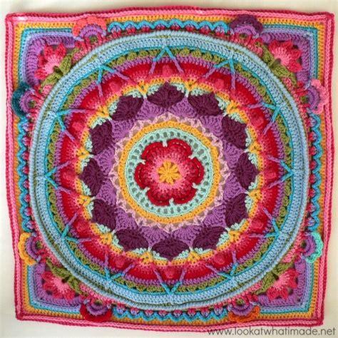 s garden crochet blanket