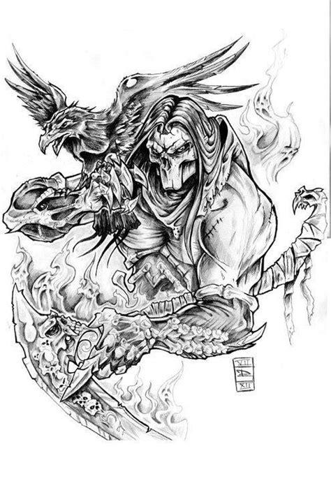 gallery death horseman tattoo