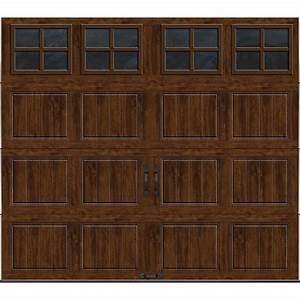 clopay gallery collection 8 ft x 7 ft 65 r value With 5 x 7 garage door