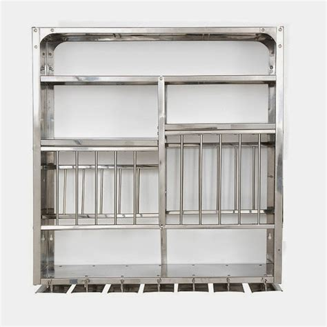 stainless steel kitchen plate rack   wall mounted dish rack