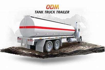 Tank Trailer Fuel Aluminum Transport Litre Oil