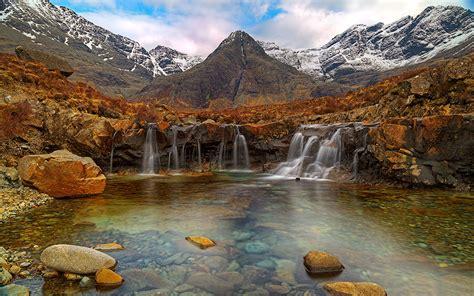 Fairy Pools, Isle Of Skye Scotland Desktop Wallpaper ...