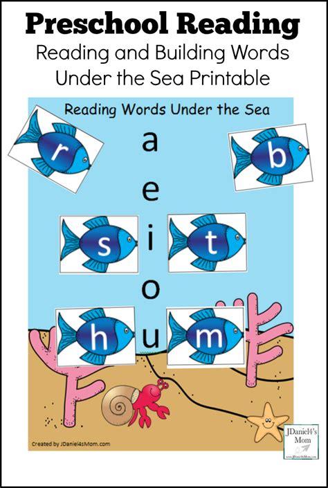 preschool reading the sea printable with letters 121   c7c878bf4e499b9405934d2e12f6a129