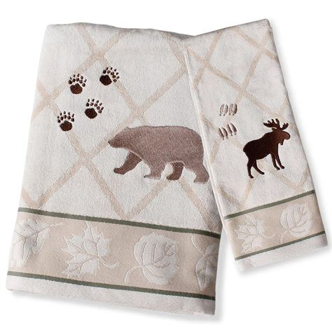 wilderness lodge towels cabin place