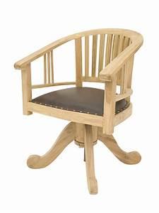 Chaise De Bureau En Bois : comment reconnaitre une chaise de bureau colo ~ Mglfilm.com Idées de Décoration