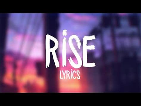 Jonas Blue  Rise Ft Jack & Jack (lyrics  Lyric Video