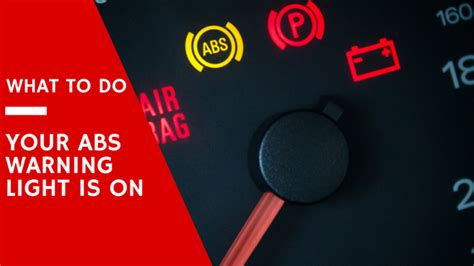 what does the abs light your abs warning light is on what it means and how to fix it