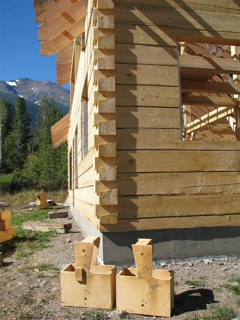 building a log cabin dove jig plans rural building a cabin log