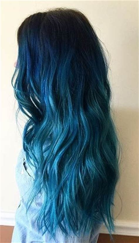 light blue hair dye 18 beautiful blue ombre colors and styles popular haircuts
