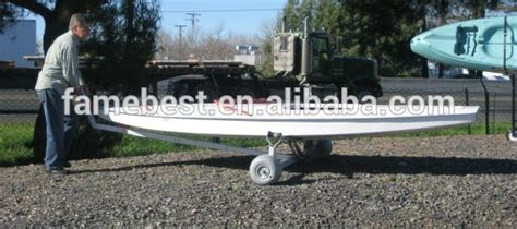 How Much Do Small Fishing Boats Cost by Adjustable Boat Trailer Boat Dolly With Balloon Wheels