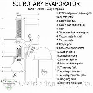 34 Rotary Evaporator Diagram