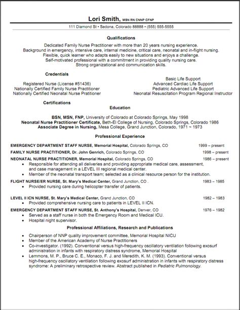 practitioner resume objective resume sles