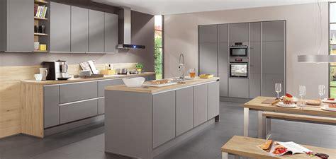 nobilia cuisine prix laser 413 gris minéral line n sans poignées cuisines