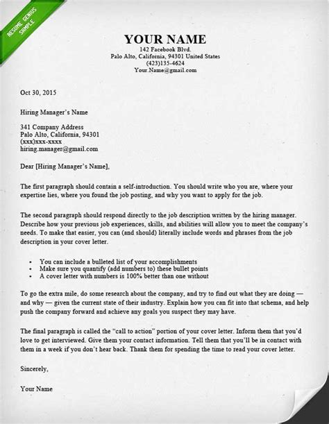 Cover Letter Template by 40 Battle Tested Cover Letter Templates For Ms Word