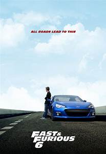 Fast and Furious 6 Poster Subaru BRZ by Drawer88 on DeviantArt