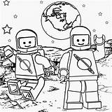 Lego Coloring Pages Printable Solar System Space Shuttle Drawing Children Minifigure Halloween Moon Minifigures Galaxy Print Man Zombie Witch Ghost sketch template