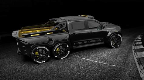 There are no translations available. 6 wheel mercedes truck : Mercedes X Class 6x6 Custom is Pickup of Your Nightmares - YouTube