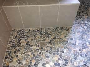 sliced bali ocean pebble tile pebble tile shop