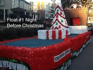 Christmas Floats  U2013 Triangle Float