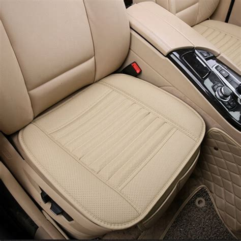 car cusions universal seat cushion pu leather car seat cover for auto
