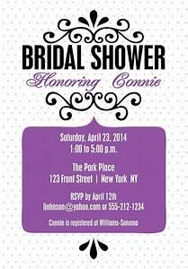 Bridal Shower Invitations - Unique Wedding Shower ...