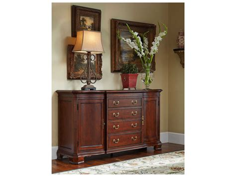 American Drew Sideboard by American Drew Cherry Grove Classic Antique Cherry 68 X