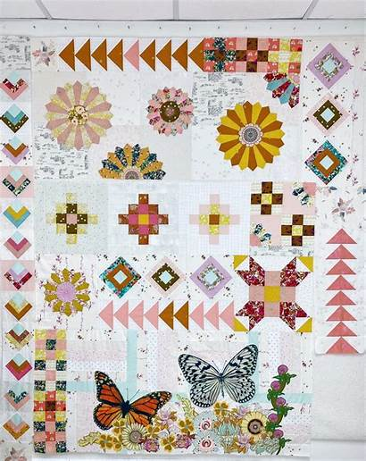Quilt Arrowheads Anthologie Working Label