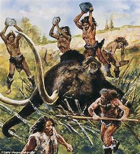 Throwing rocks were effective weapons for early humans ...