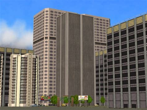 mod  sims tall skyscrapers