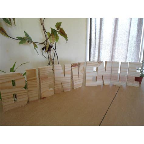 lettre cuisine en bois lettre en bois alphabet 10 cm