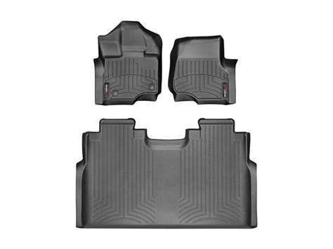 weathertech floor mats black friday 2015 2017 f150 crew cab weathertech floor liner digital fit black 44697 1 2